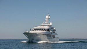 See the result of the refit of 55m Feadship Cynthia
