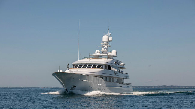 Feadship Cynthia See the result of the refit of 55m Feadship Cynthia DESTAQUE 9