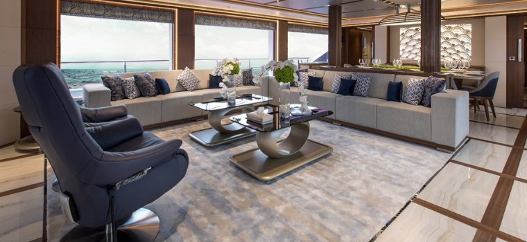 Gulf Craft Have a look inside Gulf Craft's first Majesty 140 IMG3 5