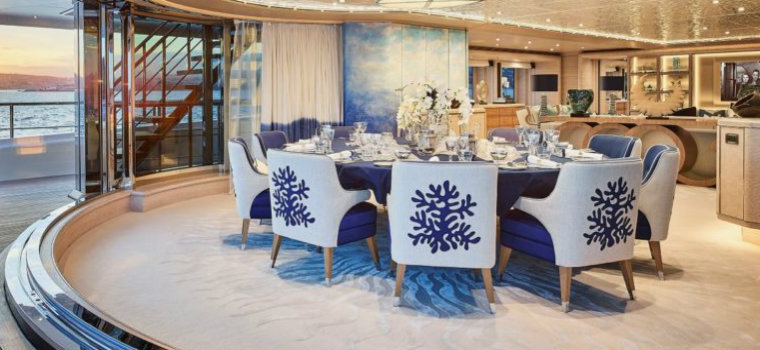 Hot on Pinterest: See these blue dining rooms inside of yachts blue dining rooms Hot on Pinterest: See these blue dining rooms inside of yachts IMG4 7