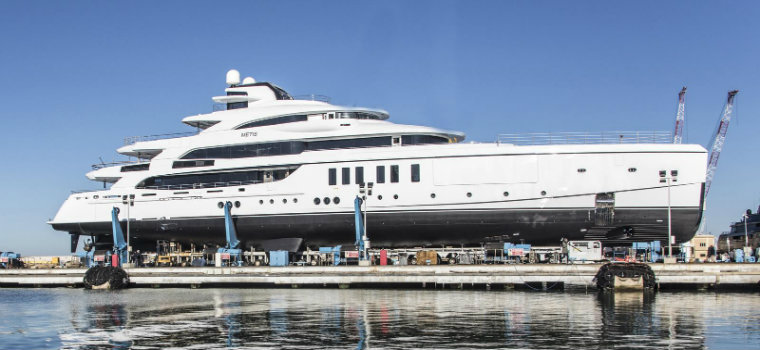 yachts These are some of the most notable new yachts launched in 2018 Metis1