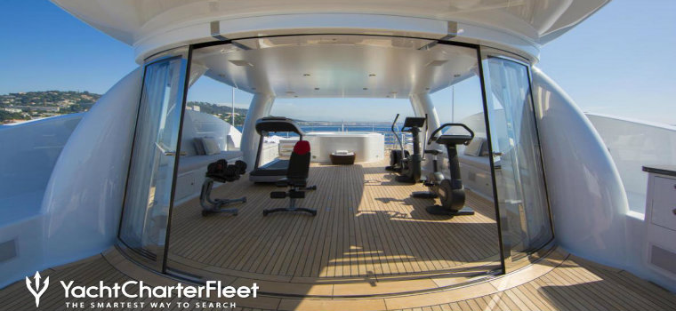 Top 7 best examples of luxury yacht GYMS luxury yacht GYMS Top 7 best examples of luxury yacht GYMS 4YOU