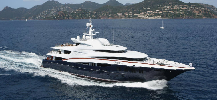 superyacht sales These are the top 7 highest superyacht sales of 2018 75m Yacht ANASTASIA 1732 20