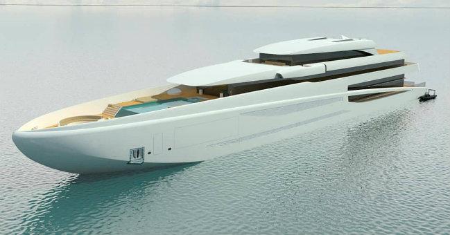 YXXI Yacht Design YXXI Yacht Design reveals new concept of Project #6 DESTAQUE 3
