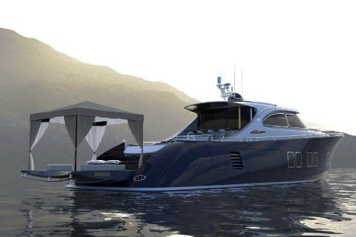 Zeelander Z72: a luxury yacht with a design inspired by Porsche