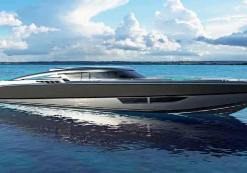 Have a look at Fiorentino and SACS' new 5000-HP luxury chase boat luxury chase boat Have a look at Fiorentino and SACS' new 5000-HP luxury chase boat DESTAQUE 8 500x350