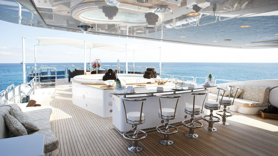 best superyacht bars See the top 7 best superyacht bars you'll ever see Diamonds are Forever