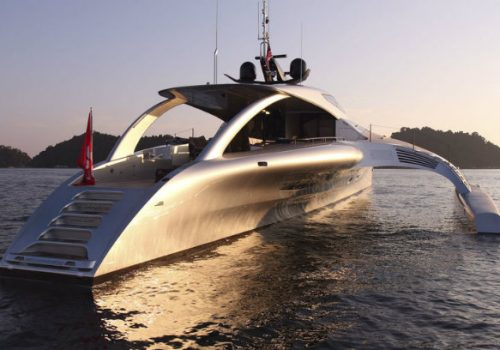 Adastra superyacht is an example of the future of yacht design