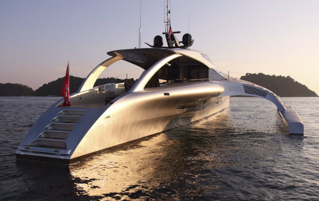 adastra superyacht Adastra superyacht is an example of the future of yacht design FEATURE 1