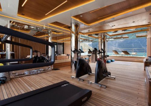 Top 7 best examples of luxury yacht GYMS