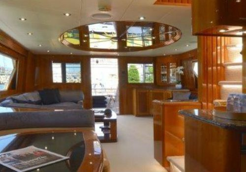 Currently for sale: have a look inside the Wild Child yacht