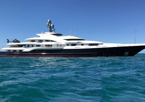 See the result of the rebuild of Attessa IV yacht