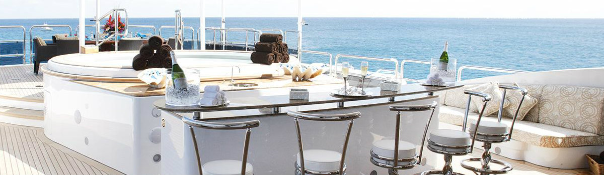 See the top 7 best superyacht bars you'll ever see
