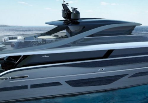 A new British yacht in town: see the Princess X95 Yacht