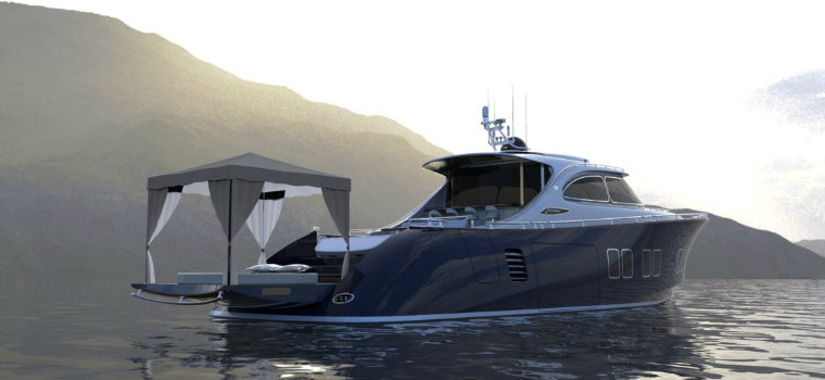 Zeelander Z72: a luxury yacht with a design inspired by Porsche luxury yacht Zeelander Z72: a luxury yacht with a design inspired by Porsche IMG2 3