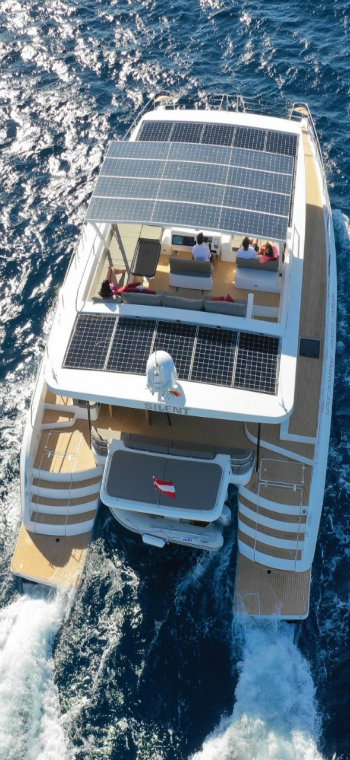 Silent Yachts' S55 is the first solar powered yacht in Asia Silent Yachts Silent Yachts' S55 is the first solar powered yacht in Asia IMG2 8