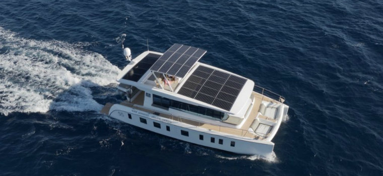 Silent Yachts' S55 is the first solar powered yacht in Asia Silent Yachts Silent Yachts' S55 is the first solar powered yacht in Asia IMG3 8