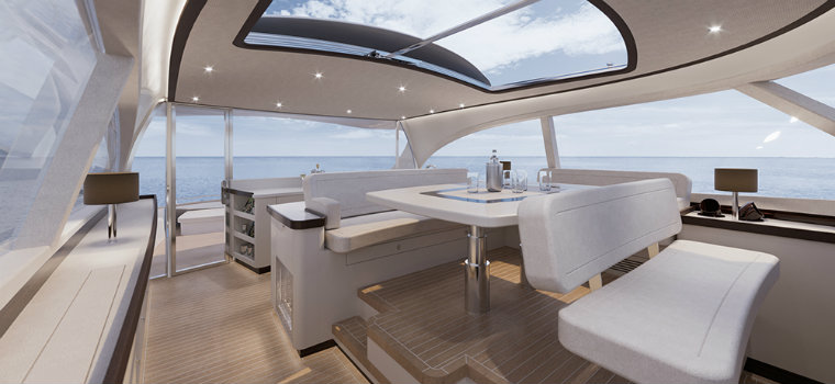 Zeelander Z72: a luxury yacht with a design inspired by Porsche luxury yacht Zeelander Z72: a luxury yacht with a design inspired by Porsche IMG5 3