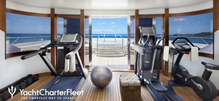 Top 7 best examples of luxury yacht GYMS luxury yacht GYMS Top 7 best examples of luxury yacht GYMS LADY BRITT