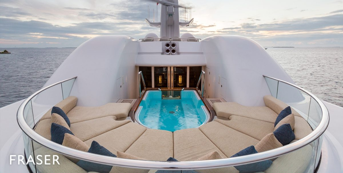 superyacht sales These are the top 7 highest superyacht sales of 2018 Oceanco yacht for charter Wheels 8281