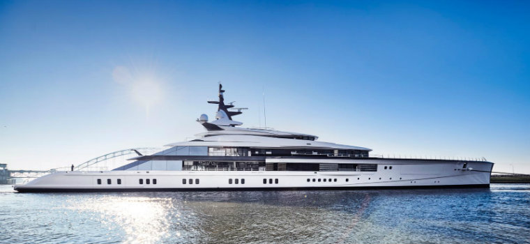 biggest yachts These are the 5 biggest yachts built in 2018 Project Bravo