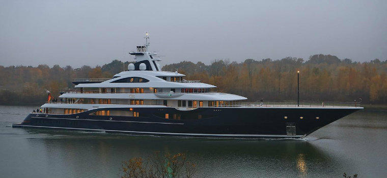These are the 5 biggest yachts built in 2018 biggest yachts These are the 5 biggest yachts built in 2018 ProjectTIS
