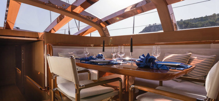 Have a look inside the wonderful superyacht Ribelle superyacht Ribelle Have a look inside the wonderful superyacht Ribelle Ribelle yacht