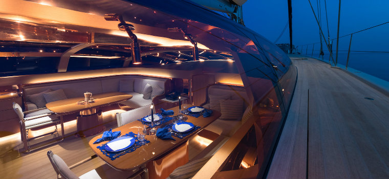 superyacht Ribelle Have a look inside the wonderful superyacht Ribelle Ribelleyacht3