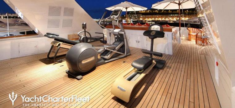 Top 7 best examples of luxury yacht GYMS luxury yacht GYMS Top 7 best examples of luxury yacht GYMS TUGATSU