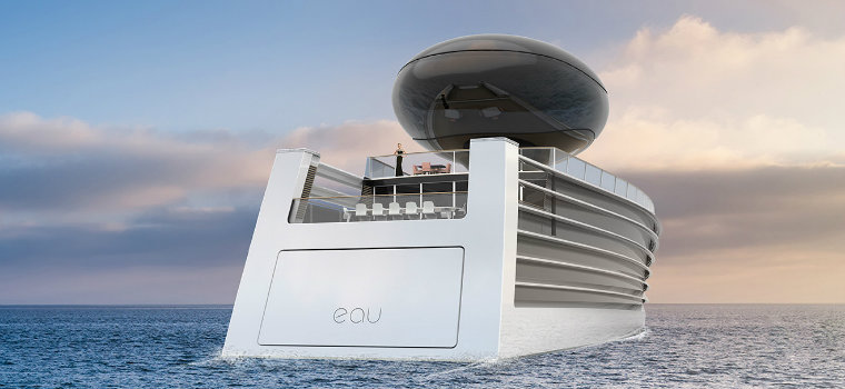 EAU Electric Yacht: a concept of the future of yachts EAU Electric Yacht EAU Electric Yacht: a concept of the future of yachts electric2