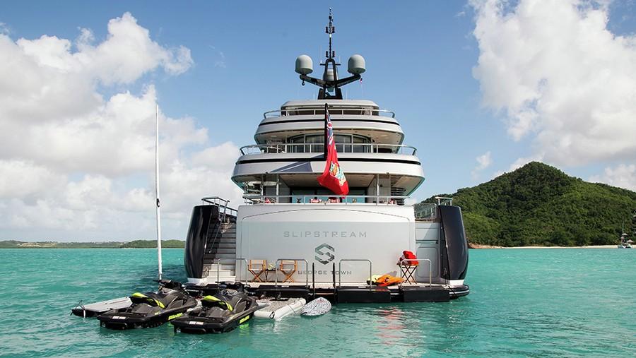 Slipstream: the perfect Superyacht Charter for Spring Break