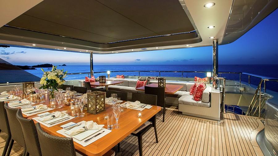 slipstream Slipstream: the perfect Superyacht Charter for Spring Break 6 1