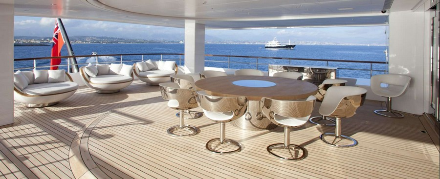 yacht interiors Top yacht designers: 5 luxury yacht interiors by Remi Tessier Air3