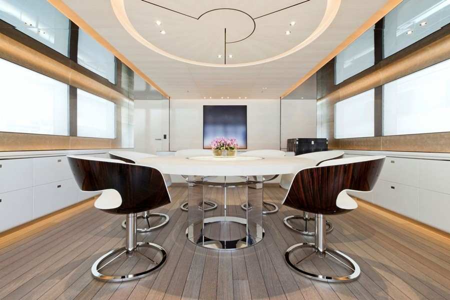 yacht interiors Top yacht designers: 5 luxury yacht interiors by Remi Tessier Aslec4 4