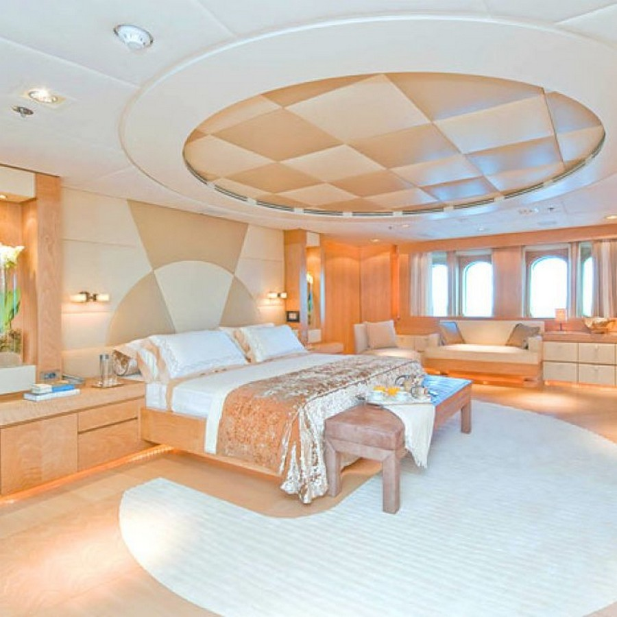 Have a look at 50 of the greatest yacht interiors - Part 2 yacht interiors Have a look at 50 of the greatest yacht interiors – Part 2 BACCA yacht master stateroom to starboard 10