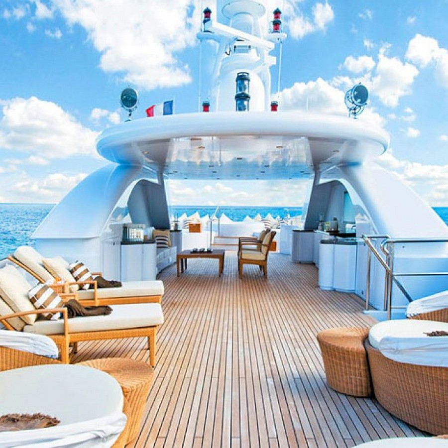Have a look at 50 of the greatest yacht interiors - Part 2 yacht interiors Have a look at 50 of the greatest yacht interiors – Part 2 BACCA yacht sundeck 3