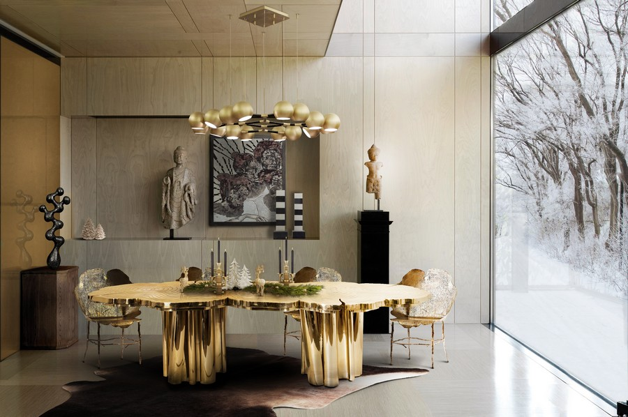 6 Amazing Dining tables used by Top interior Designers in yachts dining tables 6 Amazing Dining tables used by Top interior Designers in yachts BL Dining Room 4