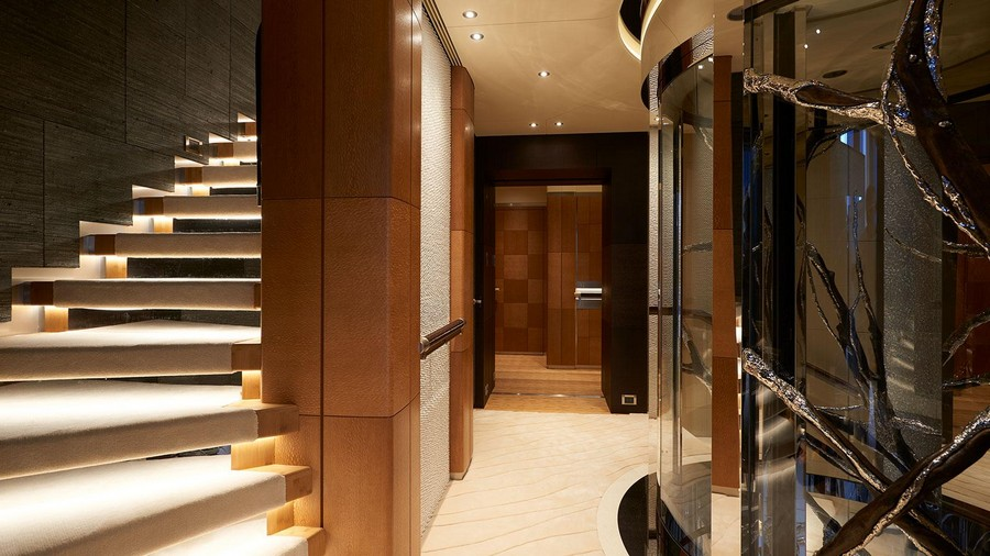 Have a look at our top 5 best superyacht staircases