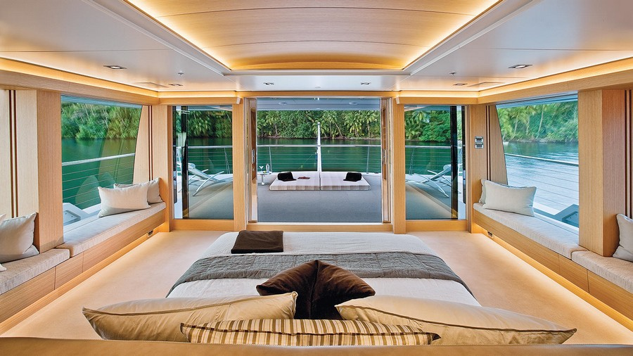 decks in yachts Have a look at 5 of the best luxury owner's decks in yachts Big Fish 1