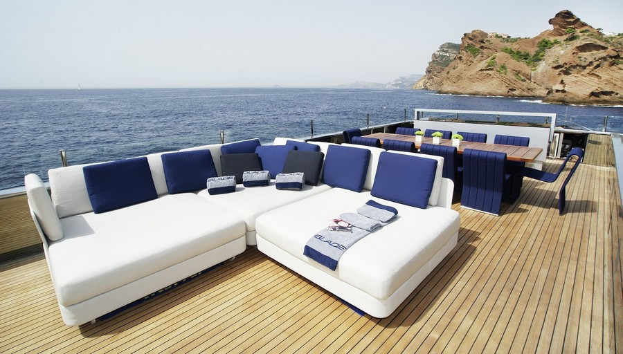 yacht interiors Top yacht designers: 5 luxury yacht interiors by Michela Reverberi Blade3