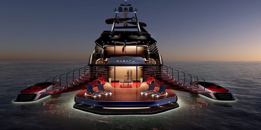 Some of 2019's most extravagant yacht concepts released so far yacht concepts Some of 2019's most extravagant yacht concepts released so far Carat2