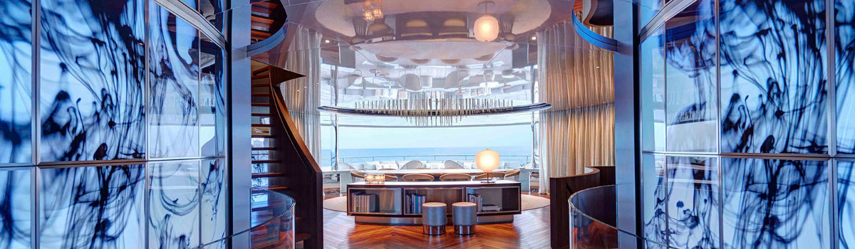 decks in yachts Have a look at 5 of the best luxury owner's decks in yachts FEATURE 12