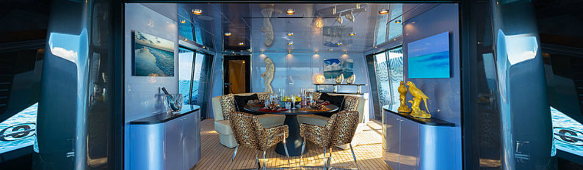 Roberto Cavalli Let's have a peek inside Roberto Cavalli's 28m yacht Freedom FEATURE 8