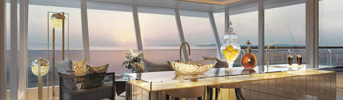 most Luxurious Suite See the most Luxurious Suite unveiled by Regent Seven Seas Cruises Feature