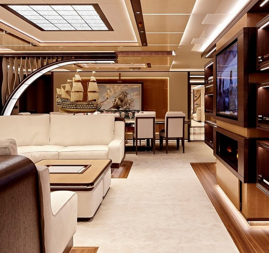yacht interiors Have a look at 50 of the greatest yacht interiors – Part 3 Galactica Supernova Heesen04