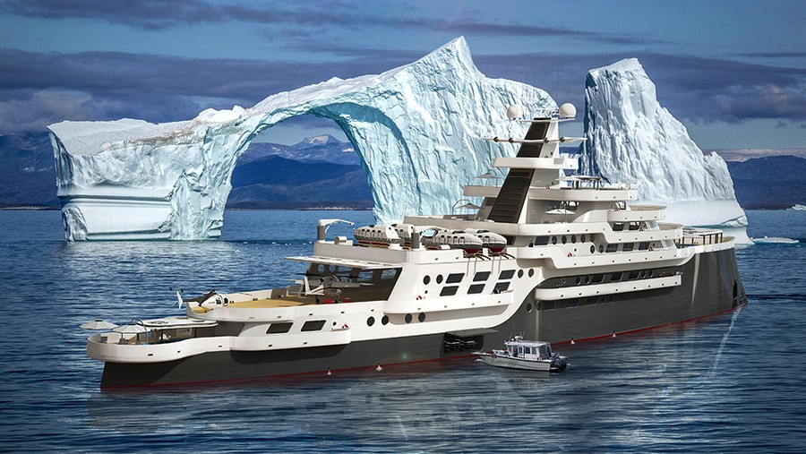 Some of 2019's most extravagant yacht concepts released so far yacht concepts Some of 2019's most extravagant yacht concepts released so far Goliath