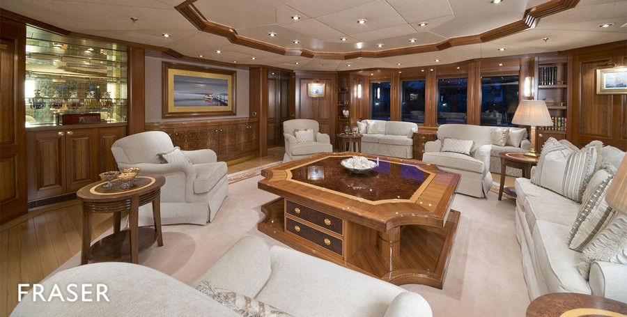 yacht interiors Have a look at 50 of the greatest yacht interiors – Part 3 Laurel2