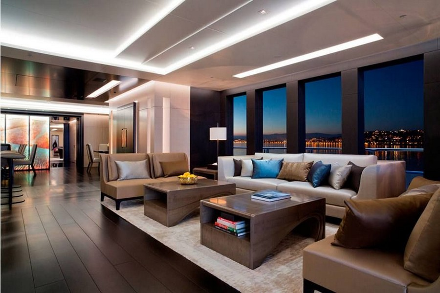 yacht interiors Have a look at 50 of the greatest yacht interiors – Part 3 Mogambo