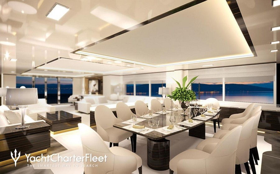 6 Amazing Dining tables used by Top interior Designers in yachts dining tables 6 Amazing Dining tables used by Top interior Designers in yachts O   MathildebyGiorgio Vafiadis