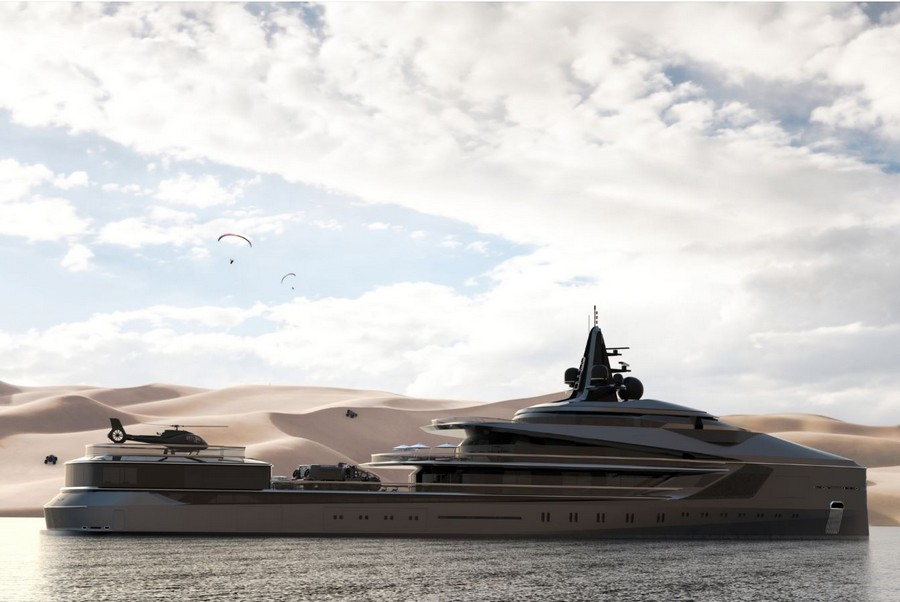 Some of 2019's most extravagant yacht concepts released so far yacht concepts Some of 2019's most extravagant yacht concepts released so far Oceanco 1
